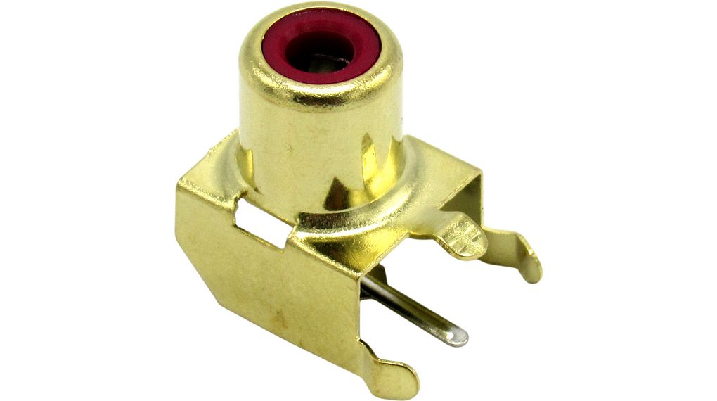 Buy Female Panel Connector, Red