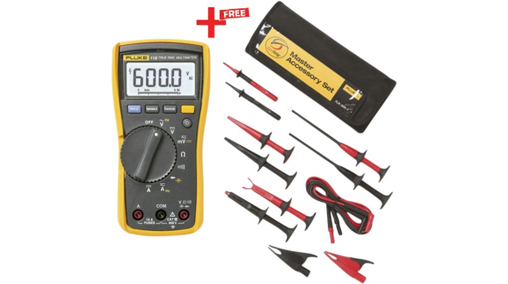 Buy Digital Multimeter TRMS AC 600 VAC