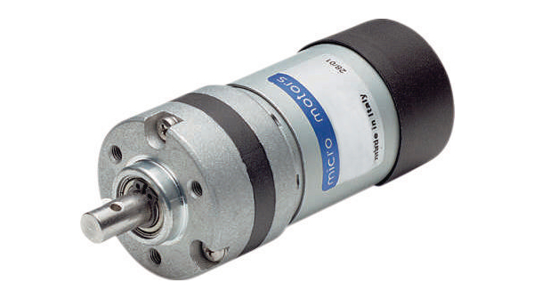 Buy DC Motor, 40.5 mm, with Gearbox 246:1 12 VDC