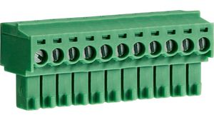 14 AWG Clamp 3.5 mm 1.5 mm² Pluggable Terminal Block 12 Ways 28 AWG
