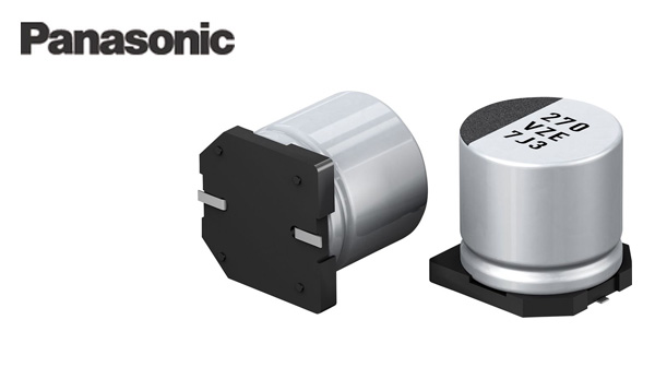 Panasonic's new EEH-ZE series of hybrid capacitors
